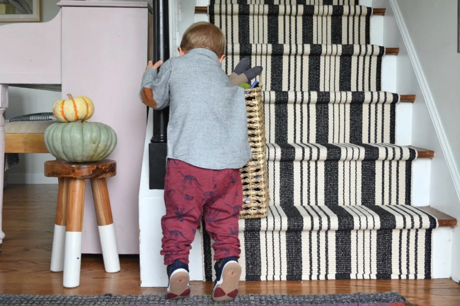 Learn From Our Mistakes When Installing A Stair Runner Nesting | Cost To Re Carpet Stairs And Landing | Berber Carpet | Stair Runner | Stair Nosing | Laminate Flooring | Des Kelly