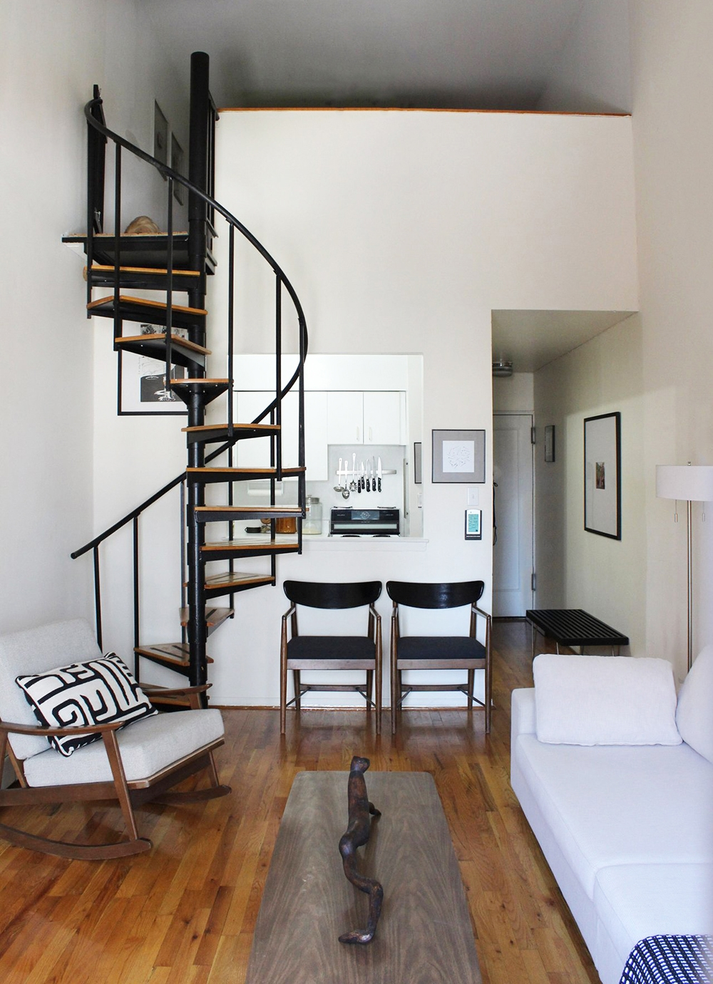 Space Saving Staircases Room For Tuesday Blog   Spiral Stairs For Small Spaces   Minimalist   Low Budget   Semi   Corner   Acrylic