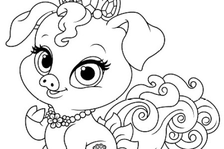 Free Princess Palace Pets Coloring Page Of Ash SKGaleana Booksy Printable Pages