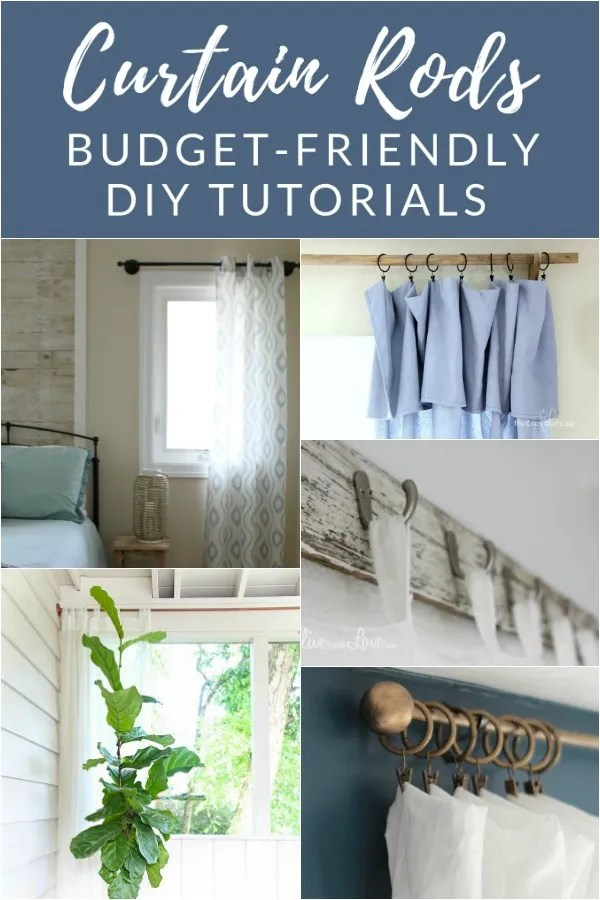 10 diy curtain rods that will save you