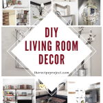 Diy Living Room Decor Diy Ideas Of Wall Furniture And