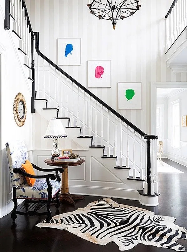 How To Decorate A Staircase Wall The Zhush Blog   Designs For Staircase Wall   Partition   Classy   Attractive   Luxury   Transitional