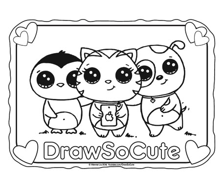 coloring pages cute # 18