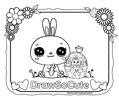 coloring pages cute # 5