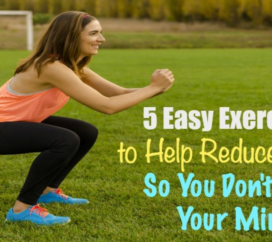 5 Easy Exercises To Help Reduce Stress So You Dont Lose