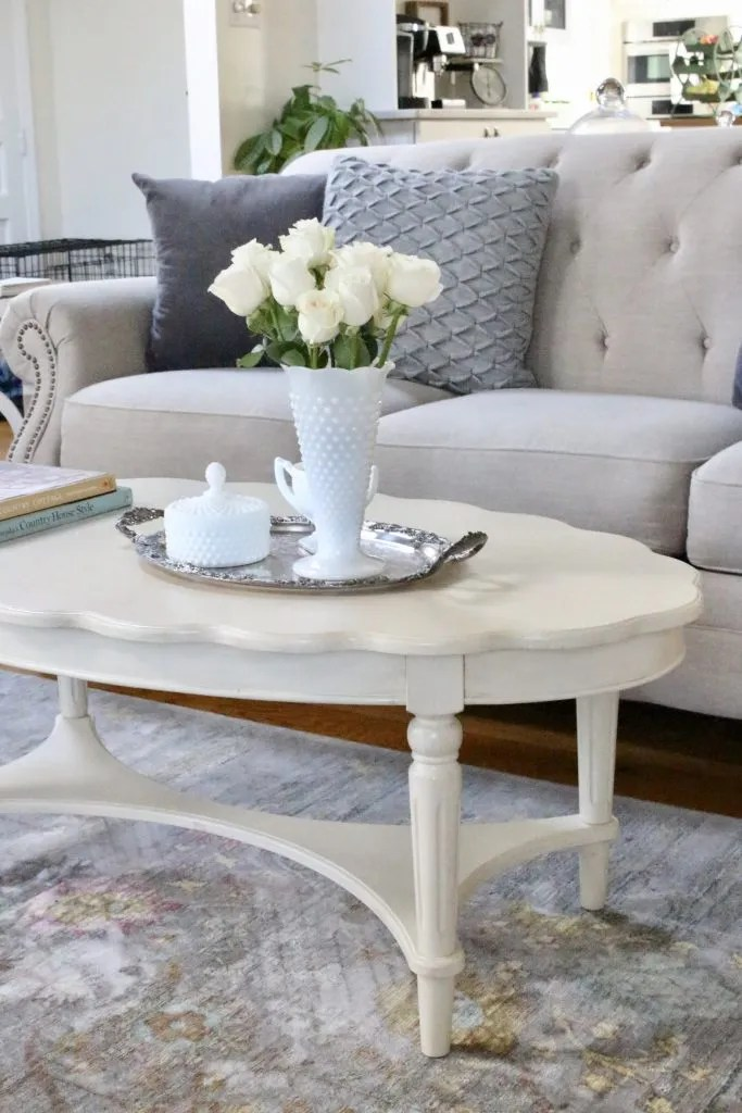 a newcottage coffee table white