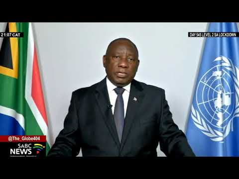 76th UNGA | President Ramaphosa calls on UN to address reparations for slave trade victims