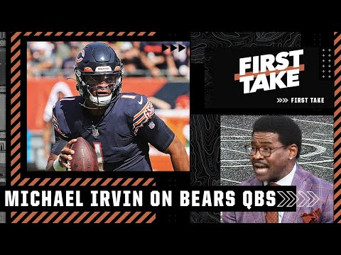 Why Michael Irvin would start Foles over Fields if Dalton can't go | First Take