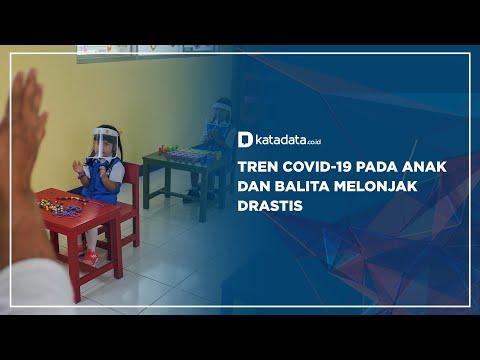 Tren Covid-19 Pada Anak dan Balita Melonjak Drastis | Katadata Indonesia