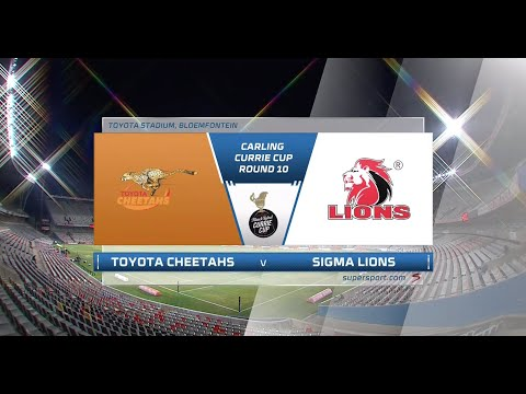 Currie Cup Premier Division   Toyota Cheetahs v Sigma Lions   Highlights