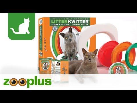 Toilettensitz für Katze | Litter Kwitter Katzenklo | zooplus