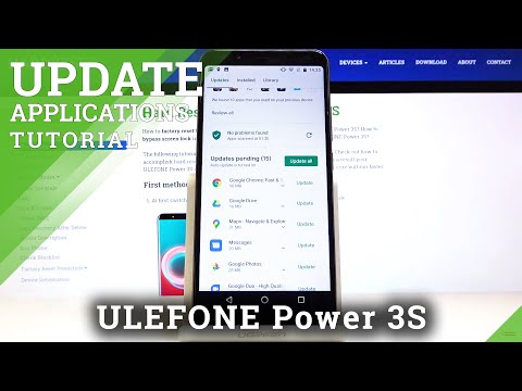 How to Update Applications in Ulefone Power 3s – Install Latest App Version