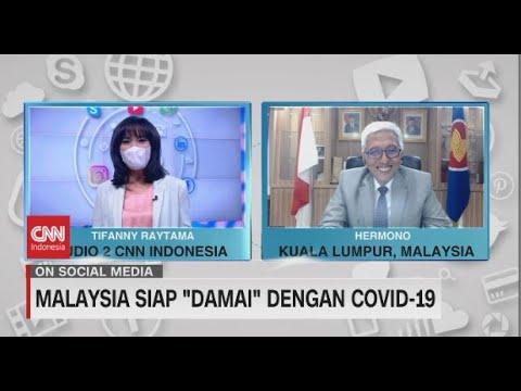 """Malaysia Siap """"Damai"""" Dengan Covid-19"""