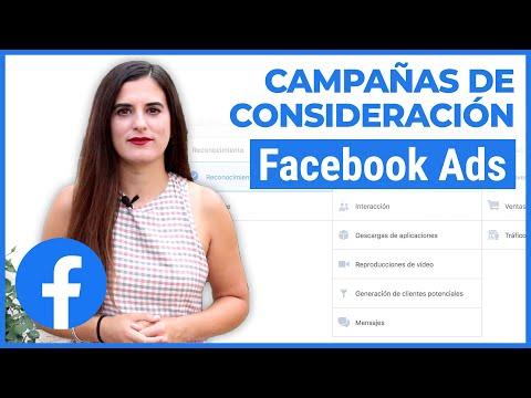 Campañas de Consideración en Facebook Ads (2020)