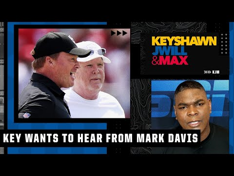 Keyshawn wants Raiders team owner Mark Davis to address the Jon Gruden situation | KJM