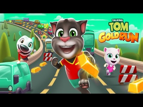Talking Tom Gold Run Android Gameplay #24