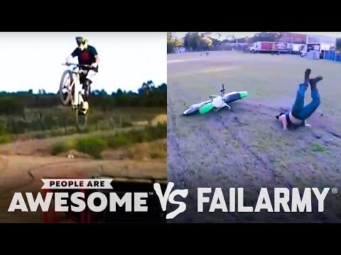 BMX, Rope Swings, Knives & More | People Are Awesome Vs. FailArmy