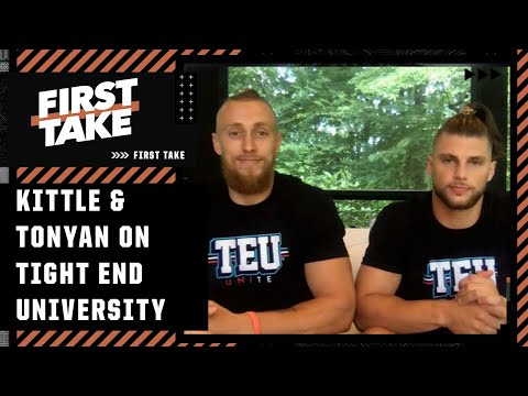George Kittle and Robert Tonyan on Trey Lance, Aaron Rodgers and 'Tight End University' | First Take