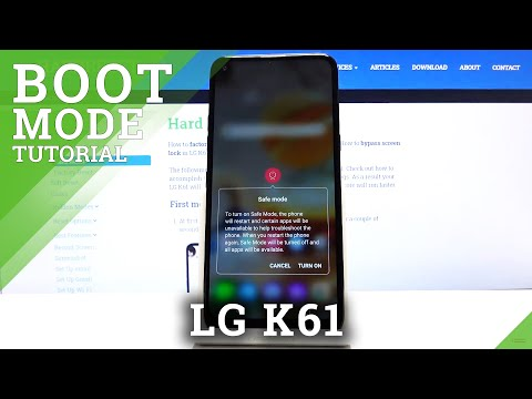 How to Boot Safe Mode on LG K61 - Quit Safe Mode