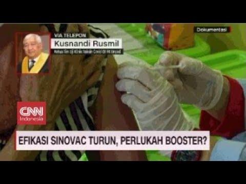 Meski Efikasi Turun,  Vaksin Sinovac Tetap Ampuh Melawan Penyakit
