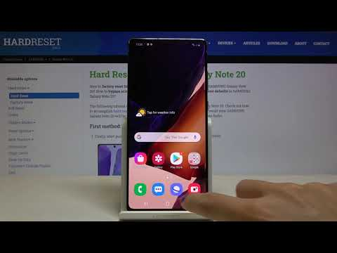 How to Turn Off Running Apps in SAMSUNG Galaxy Note 20 – Turn Off Background Apps