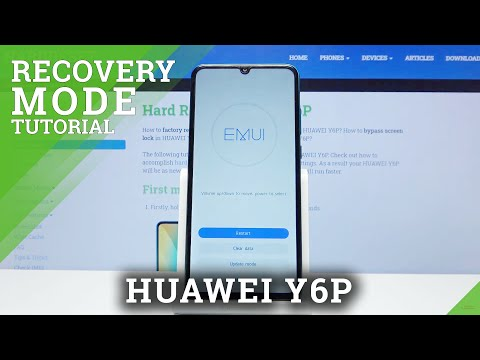 How to Activate Recovery Mode in Huawei Y6P - Unlock Hidden Module