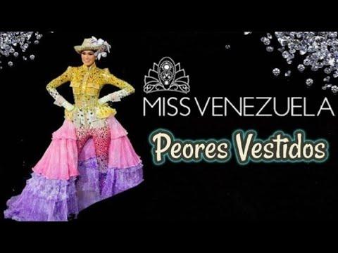Los Vestidos De Gala Más Feos Y Polémicos Del Miss Venezuela