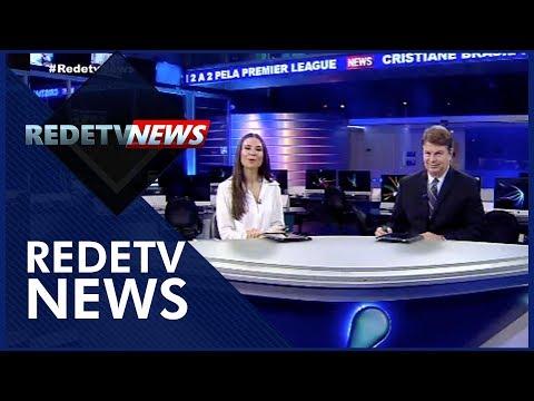 RedeTV News (11/08/18) | Completo
