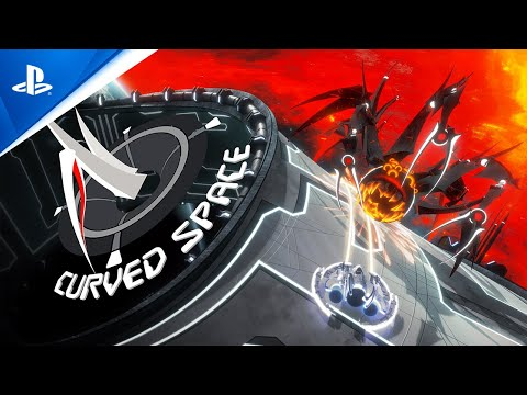 Curved Space - Announcement Trailer | PS4, PS5
