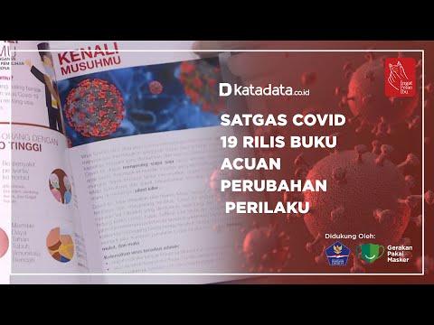 Satgas Covid-19 Rilis Buku Acuan Perubahan Perilaku | Katadata Indonesia