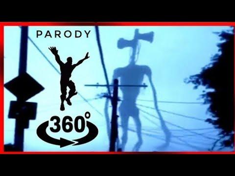 SIREN HEAD Coffin Dance Meme (Funny Comedy Parody) Fortnite 360 Video