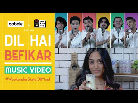 Gobble | Dil Hai Befikar [Music Video] | Acapella Anthem with ASMR Twist ft. Ambika Nayak, Instrumen