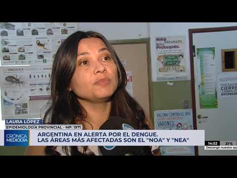 Argentina en alerta por el dengue: afecta al noreste y noroeste del país