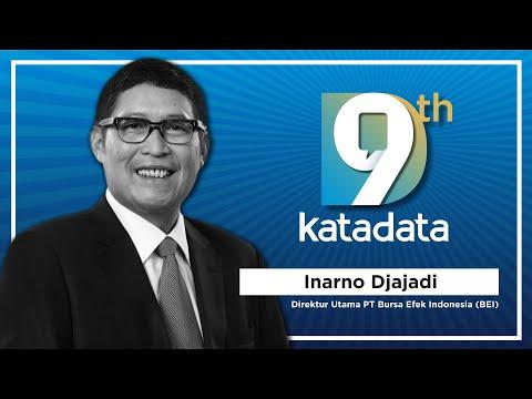 HUT Katadata-9: Direktur Utama PT Bursa Efek Indonesia (BEI) - Inarno Djajadi | Katadata Indonesia