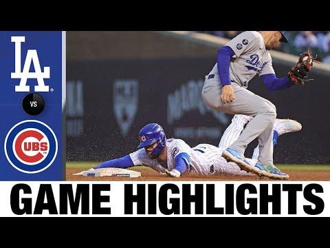 Dodgers vs. Cubs Full Game Highlights (5/4/21) | MLB Highlights