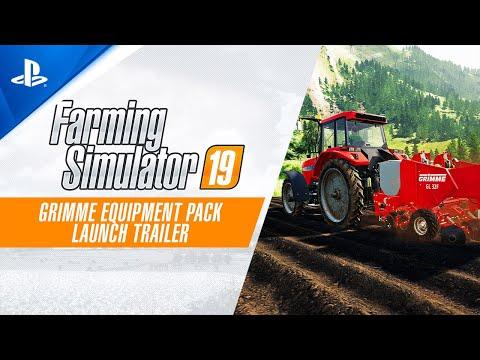 Farming Simulator 19 - GRIMME Equipment Pack Launch Trailer | PS4