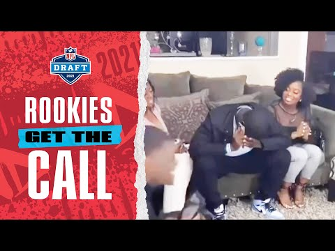 Rookies Get the Draft Phone Call from Their New Team! | 2021 NFL Draft