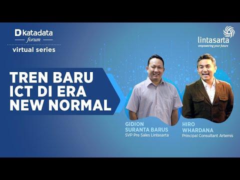 "Katadata Forum Virtual Series ""Tren Baru ICT di Era New Normal"""