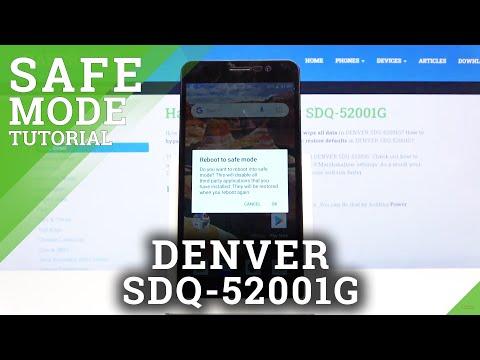 How to Use Safe Mode on DENVER SDQ-52001G – Exit Safe Mode