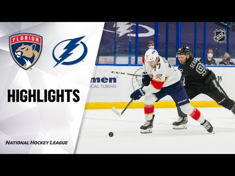 Panthers @ Lightning 4/17/21 | NHL Highlights