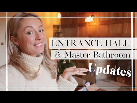 ENTRANCE HALL + MASTER BATHROOM UPDATE // Fashion Mumblr Vlogs