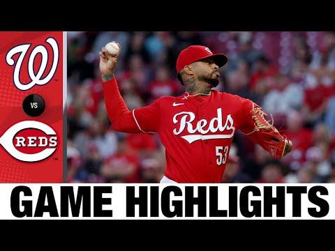Nationals vs. Reds Game Highlights (9/25/21)   MLB Highlights