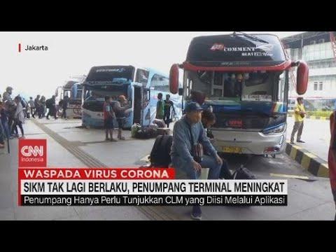 SIKM Tak Lagi Berlaku, Penumpang Terminal Meningkat
