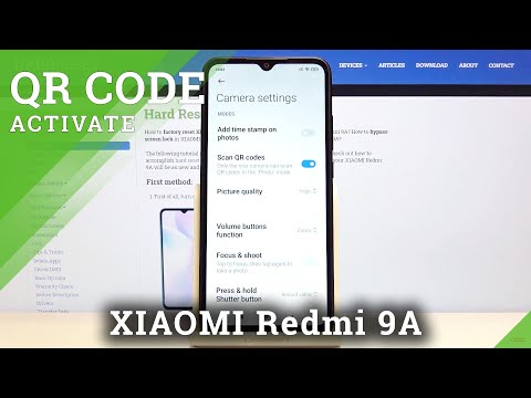 How to Allow Camera to Scan QR Codes in XIAOMI Redmi 9A
