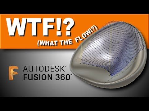 Tutorial: Using FLOW TOOLPATH  in Fusion 360 | FF126