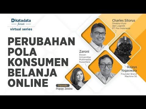 """Katadata Forum Virtual Series """"Perubahan Pola Konsumen Belanja Online"""""""