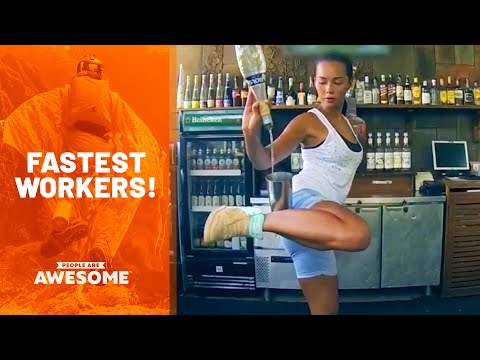 The Best At Their Job | Fast Workers