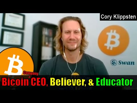 'Bitcoin Is THE BEST Savings Vehicle Of All Time' | Cory Klippsten CEO Swan Bitcoin Interview