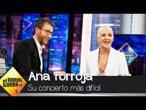 Ana Torroja sufrió un terremoto en medio de un concierto - El Hormiguero 3.0