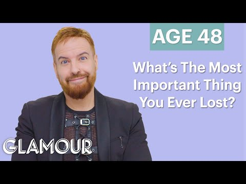 Men Ages 5-75: What Is The Most Important Thing You Ever Lost? | Glamour